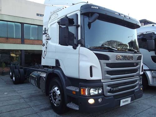 scania p 250 2012 truck chassi 10 mt automatica financia100%