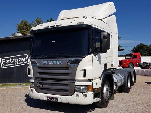 scania p 340  2010 cavalo 6x2 trucado p340