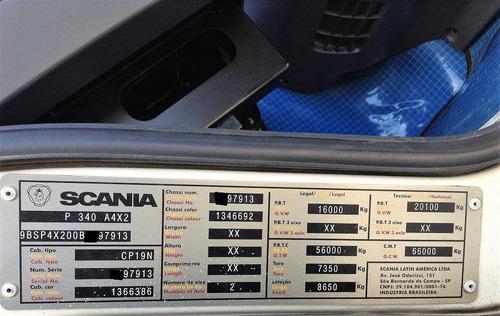 scania p 340 4x2 2011 / 2011 com 748.000 km fotos parte 2