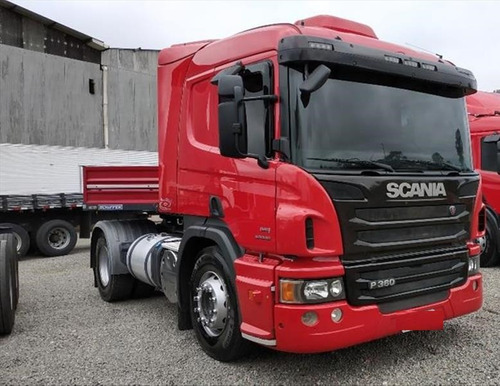scania p 360 2014 com carreta