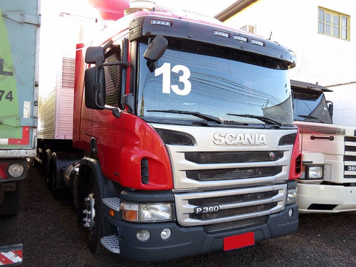scania p 360 6x2 2013 condições especiais 1° caminhão
