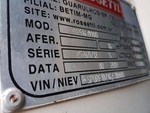 scania p 360 6x4 ano 2012/2012 caçamba rossetti 16 metros