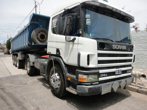 scania p114 330 año 2000 tractor