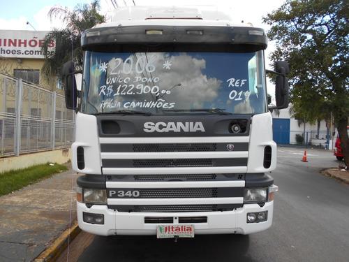 scania p114 340 2006 único dono