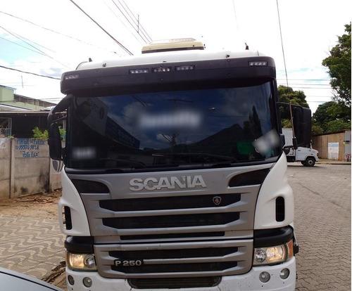 scania p250 bitruck ano 2012/13 carroceria 9,10 muito novo.