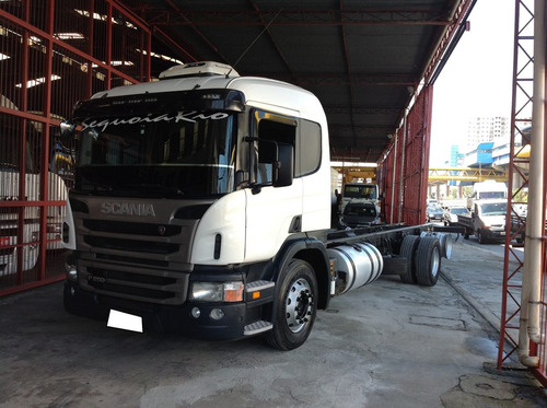 scania p250 truck chassis ano 12/12