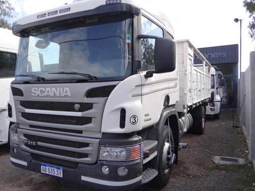scania p310 2017 chasis largo