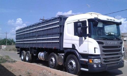 scania p310 8x2 bitruck automatica completa 2018 0km