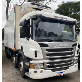 Scania P310 8x2 Câmara Fria Niju 2014