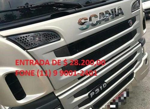 scania p310 bitruck carroçeria ano 2015
