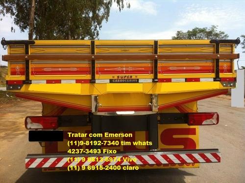 scania p310 bitruck carroceria ou baú refrigerado