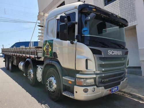 scania p310 quarto eixo carroceria