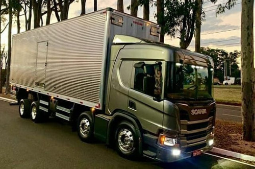 scania p320 - bau carga seca - 2020 - zero km