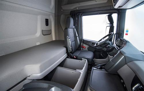 scania p320 bitruck automático completo com bau 2019/20 0km