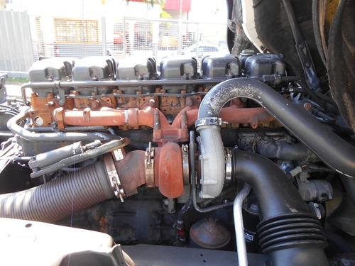 scania p340 2006 motor novo itália caminhões