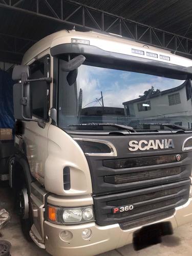 scania p360 6x2 automática 2014/2014