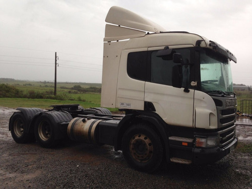 scania p410 tractor 6x2