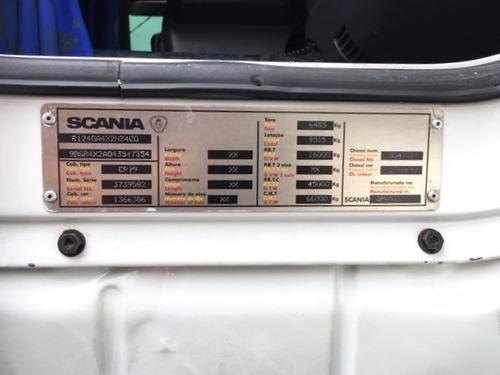 scania r-124 400 6x2 03/04 branco