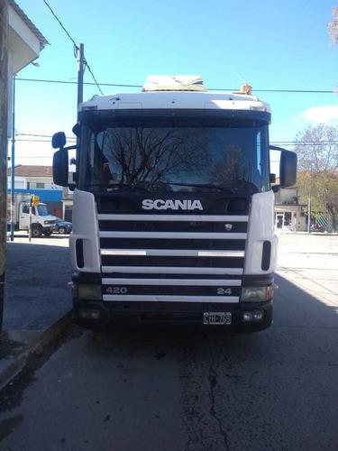 scania r-124/420