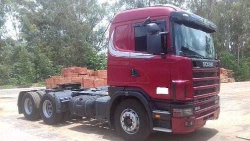 scania r-400 6x2 2004 unico dono, garantia varias unidades
