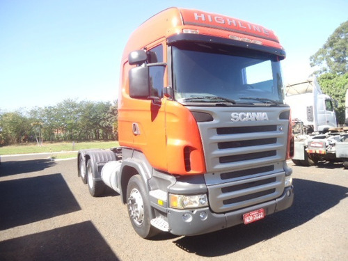 scania r 420 6x2 2007/2008 highline