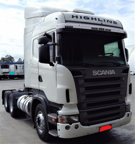 scania r 420 a 6x2 highline 2010 único dono