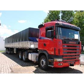 Scania R 420 Ano 2009/10  Ls Randon (ler Dercriçao)