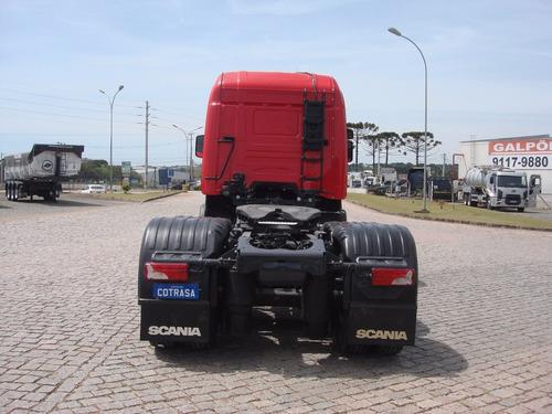 scania r 440, 6x2, highline, automatico, ar cond., sjp8415
