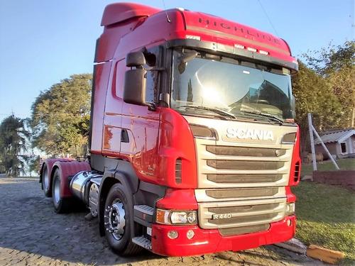 scania r 440 6x2 highline opticruise 2013 / 2013