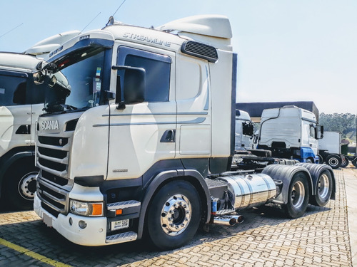 scania r 440 6x2 streamline - automático - 2016