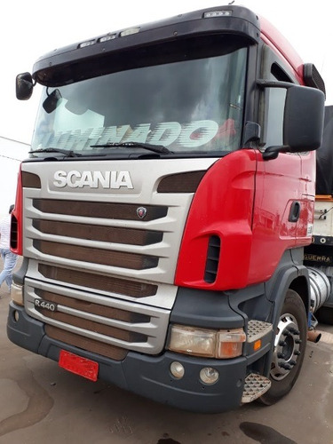 scania r 440 6x4 ano 2012/2012 km 433.384 semi nova top