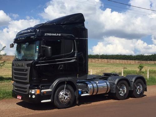 scania r 440 6x4 streamline ano:2016/com apenas 70.000 km