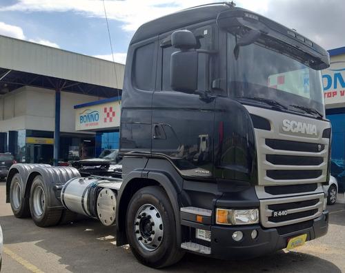 scania r 440 automática 6x2 - 2014/2014