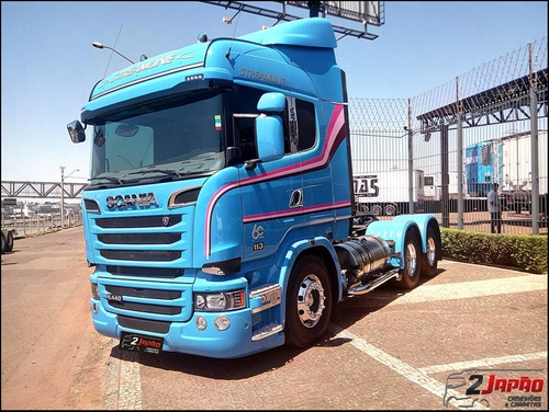 scania r 440 highline streamline 6x2 2017