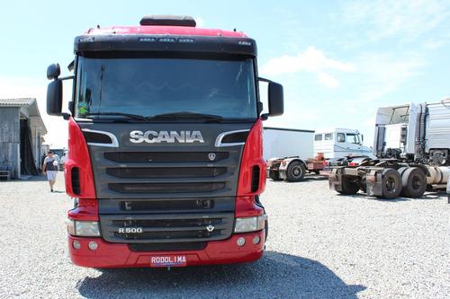 scania r 500 6x4 traçado v8 2011/2012