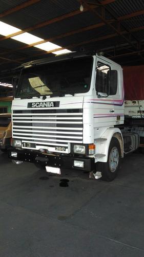 scania r113 h 360 6x2 frontal ano 1994 jj caminhões