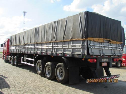 scania r113 top line carreta graneleira c/ pneus