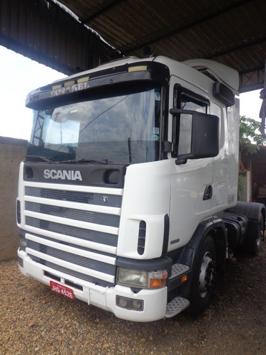 scania r114 380, toco  4x2 branco