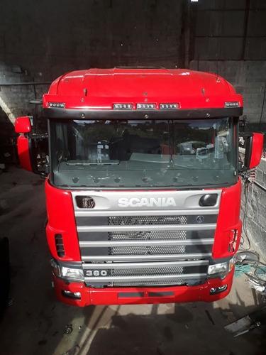 scania r124 360 6x2 ga nz 1999/1999 vermelha
