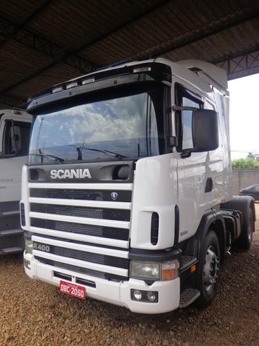 scania r124 400, 4x2  branca