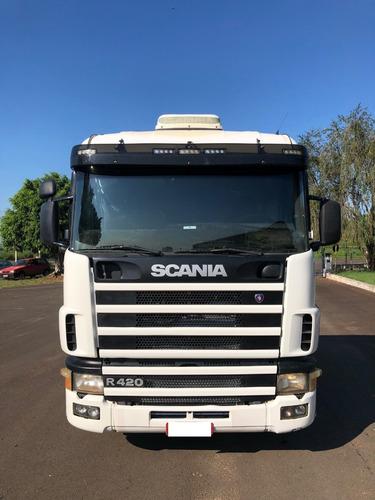 scania r124 420 6x2