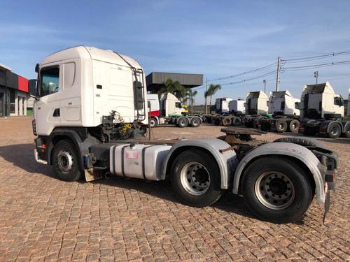 scania r124 420 6x4 buggy leve