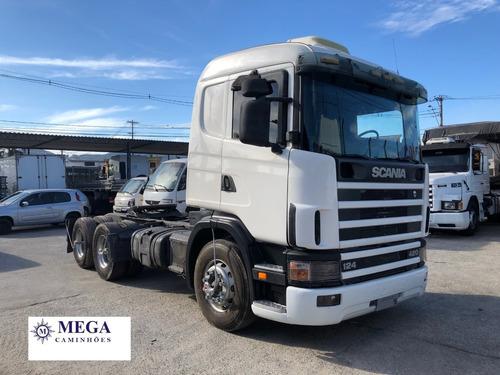 scania r124 420 cavalo truck