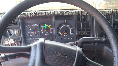 scania r380 6x2 bom de mecanica e pneus trabalhando