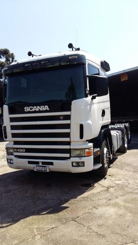 scania r420 6x2 ano 2007