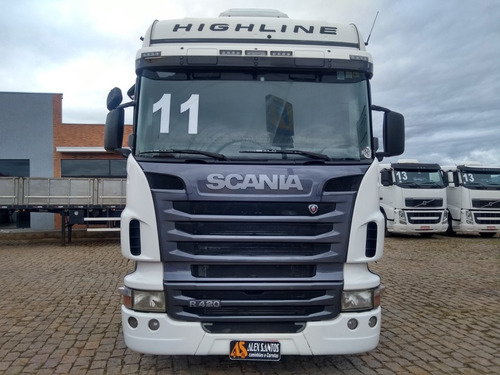 scania r420 6x4 highline 2011