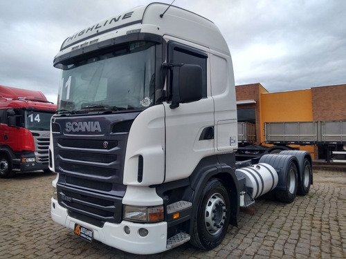 scania r420 6x4 highline