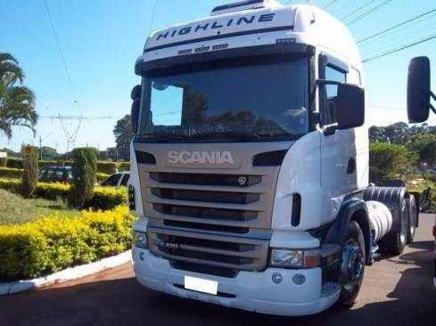 scania r420 highline 6x2 2012 entrada r$ 45.000,00 + parcela