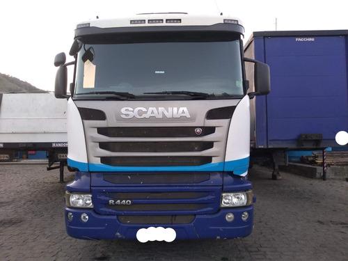 scania r440 6x2 ano 2014 automática c/ retarder único dono