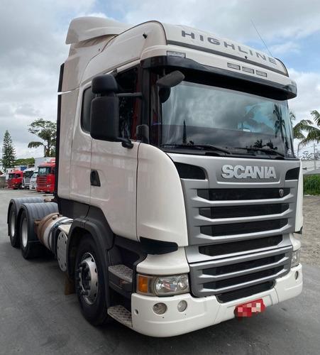 scania r440 6x4 highline opticruise 2014